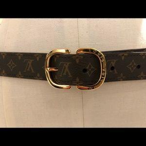 Vintage Louis Vuitton Ceinture Mini Belt 25mm